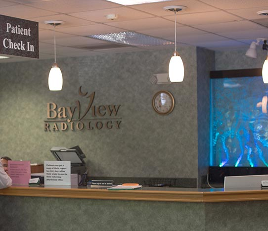 Bayview Radiology front desk